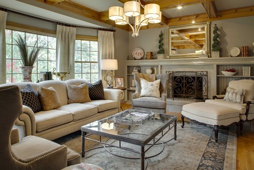 Traditional Living Room Ideas & Photos - Fine Home Lamps