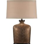 Bumpy Bottle Ceramic Lamp by Wildwood Lamps – 27″