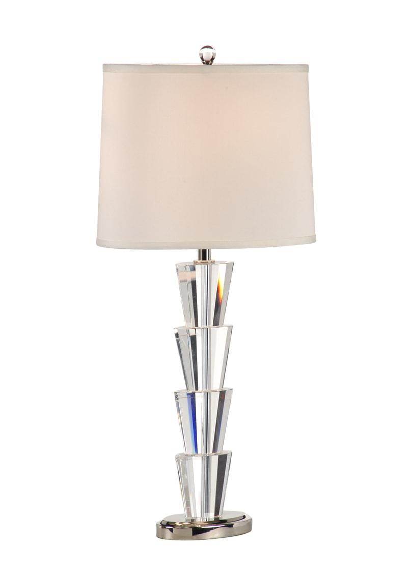 Crystal Fountain Lamp