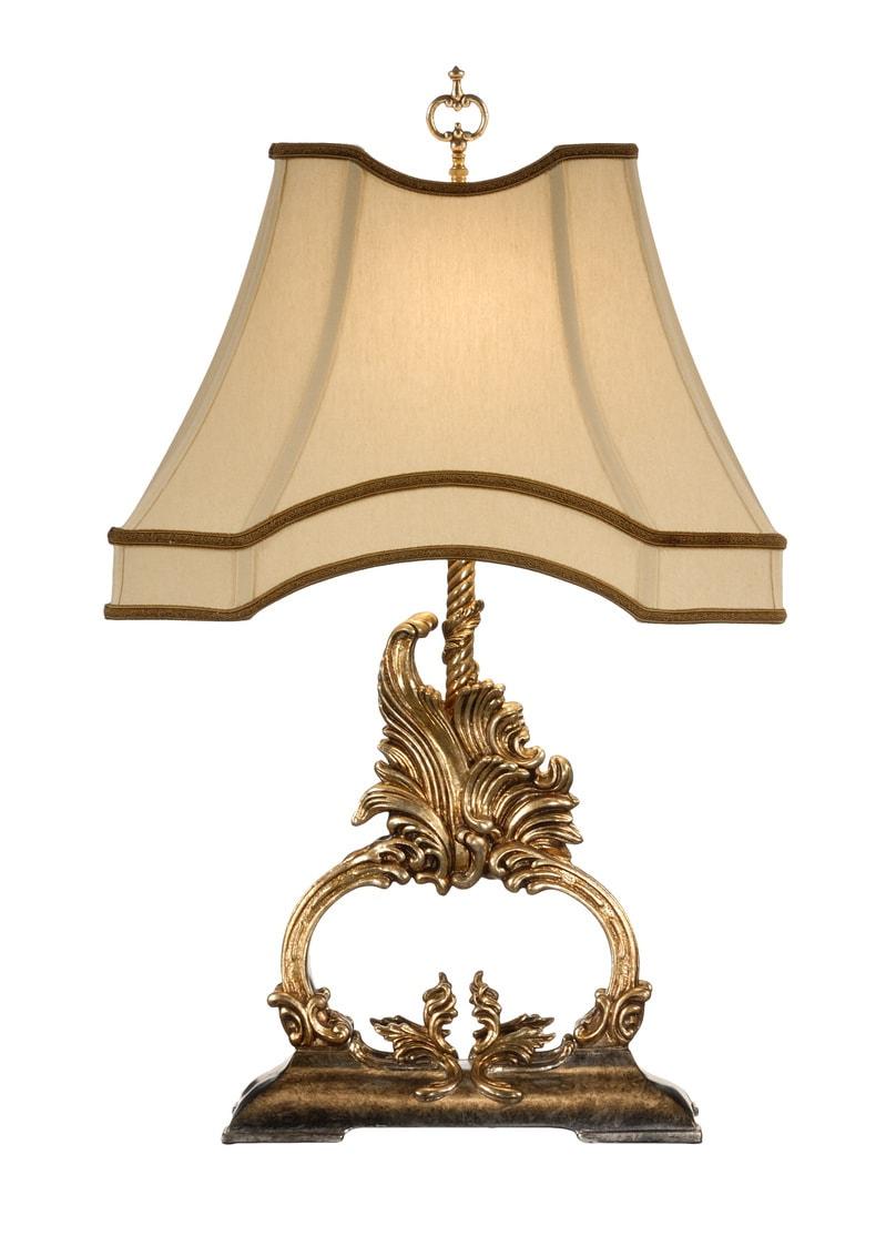 Gilt Flourish Lamp