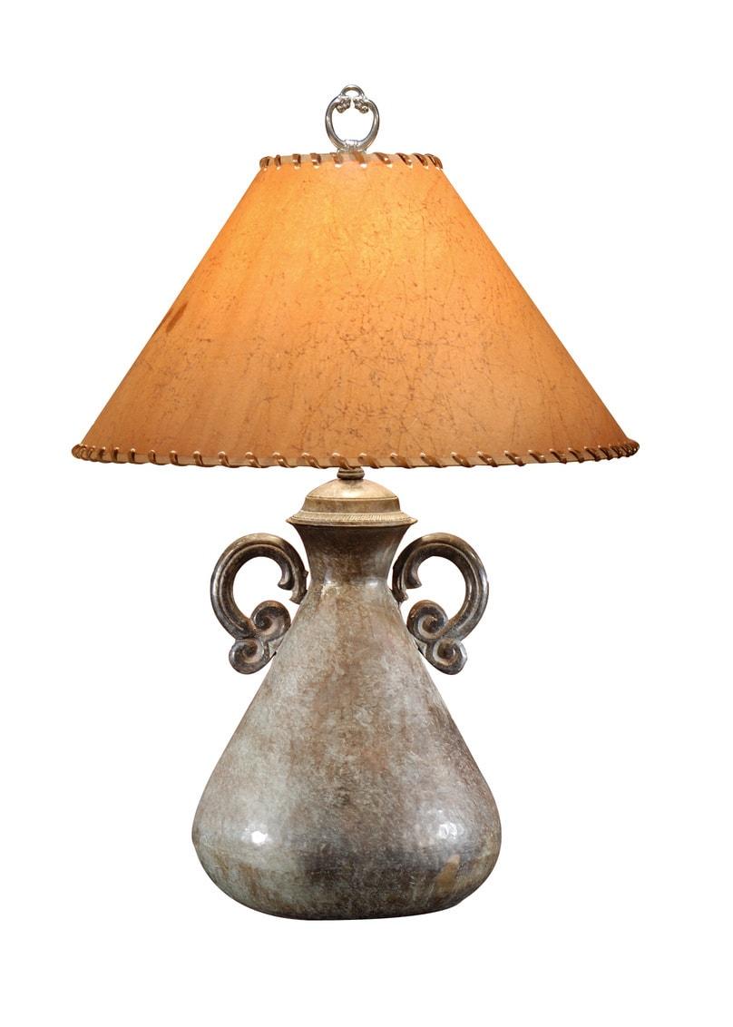 Hammered-Bottle-Lamp