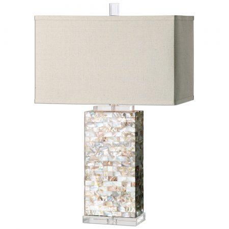 defba85896a Aden Capiz Shell Lamp by Uttermost – 29″