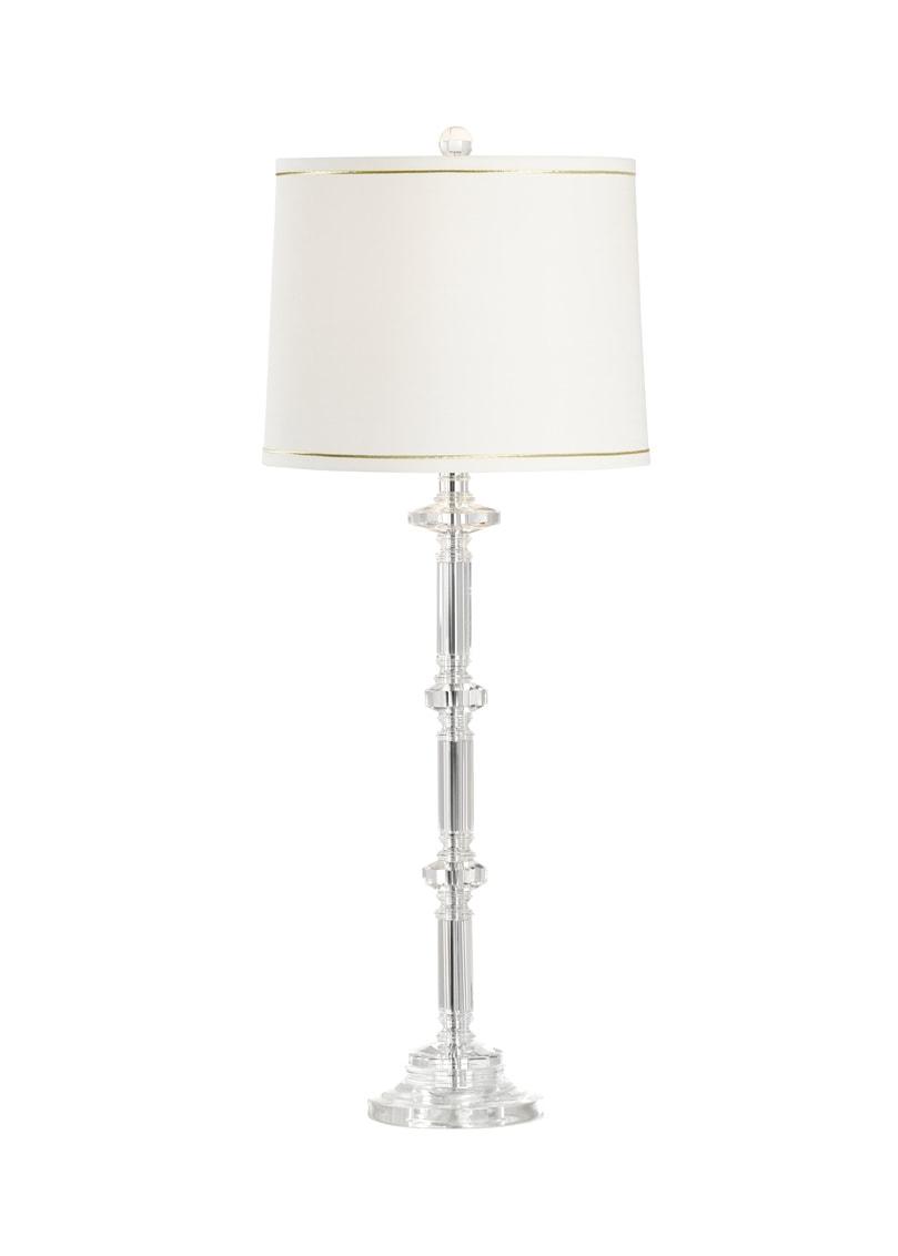 Slender Crystal Lamp by Wildwood Lamps 33