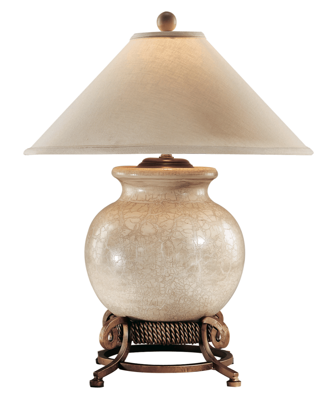 Urn With Stand Porcelain Lamp by Wildwood Lamps 27