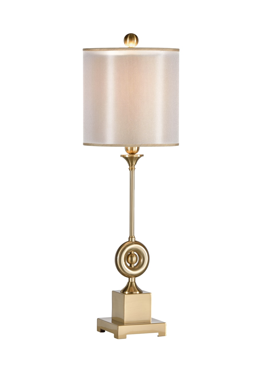 Wildwood Lamps Othia Brass Buffet Or Table Lamp 22417