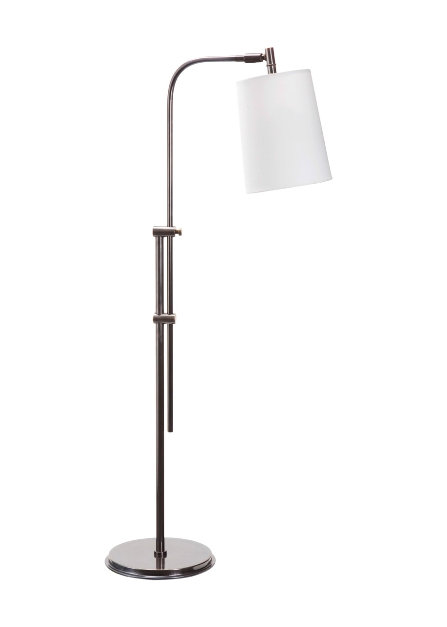 Rheus Ii Bronze Pharmacy Floor Lamp White Shade By Frederick Cooper Fine Home Lamps