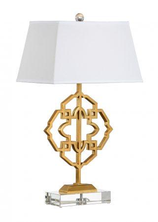 Agadir Gold Iron Lamp By Chelsea House U2013 32u2033