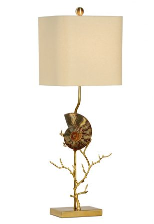 Ammonite Table Lamp Right By Chelsea House U2013 31u2033
