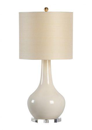 Charles Vase Lamp Cream By Chelsea House U2013 32u2033