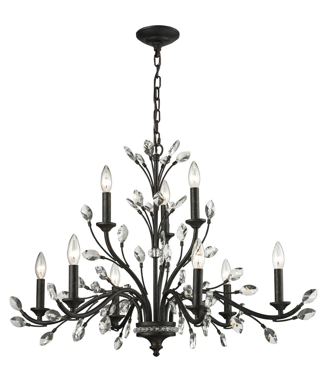 products crystal branches 9 light bronze chandelier 11776 6 3  58148.1476031032.1280.1280