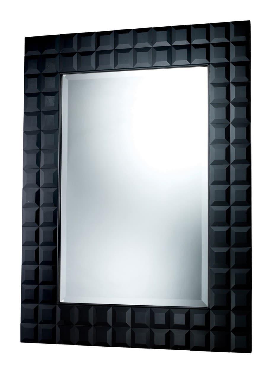 Helena Black Wall Mirror 36 X 48 Dimond Dm1951
