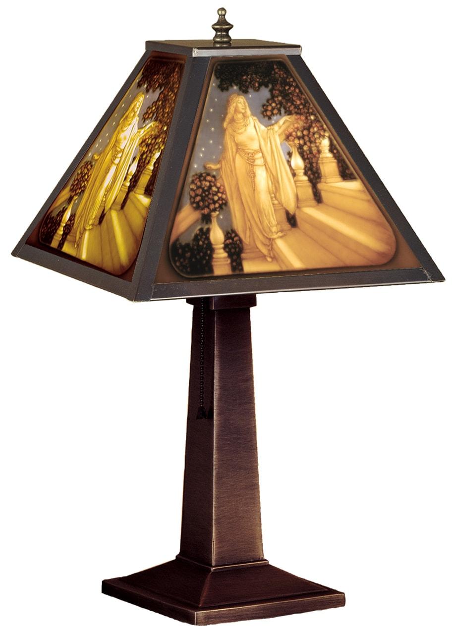 products maxfield parrish cinderella porcelain lithophane accent lamp 19899  29256.1515214664.1280.1280