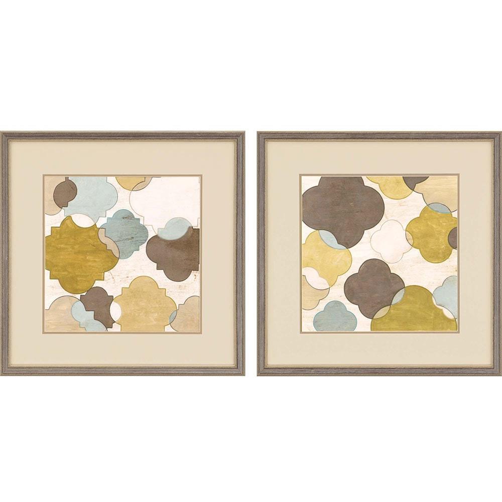 products quatrefoil i framed wall art b 1133  05480.1489017651.1280.1280