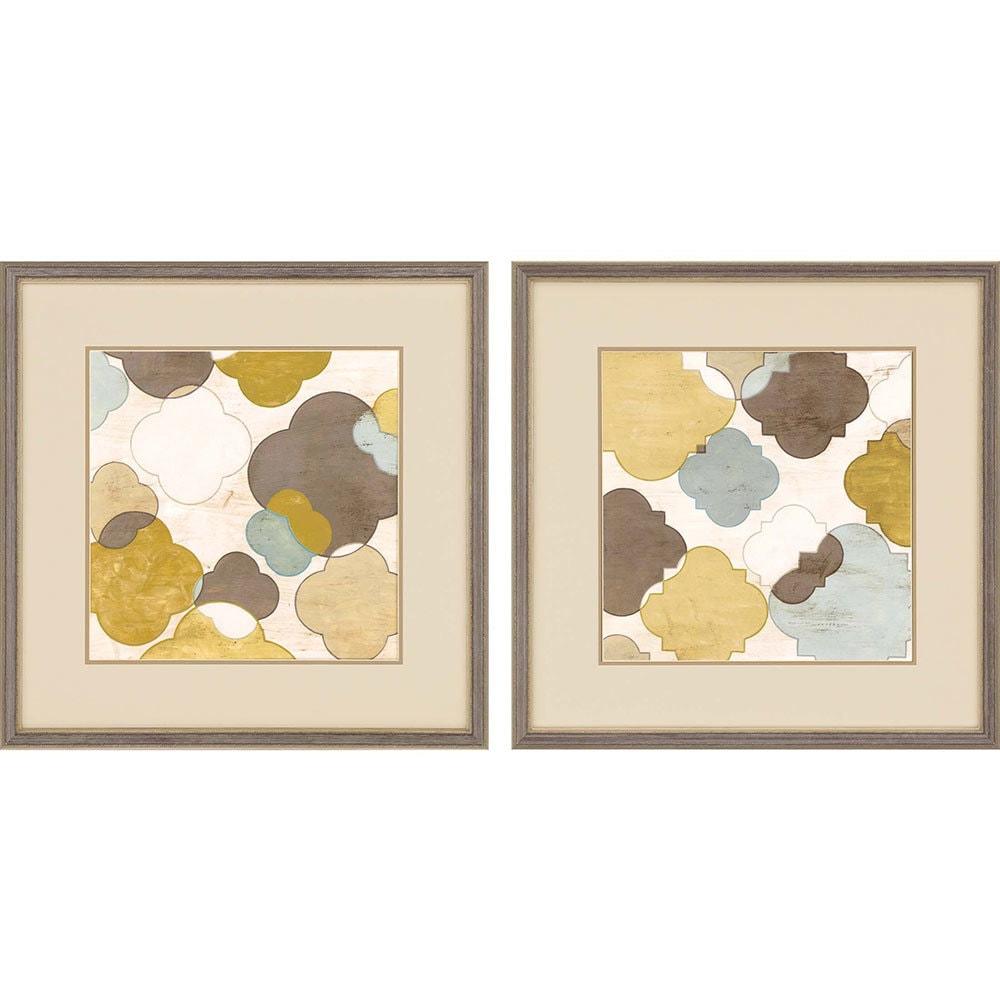 products quatrefoil ii framed wall art b 1134  56746.1489020679.1280.1280
