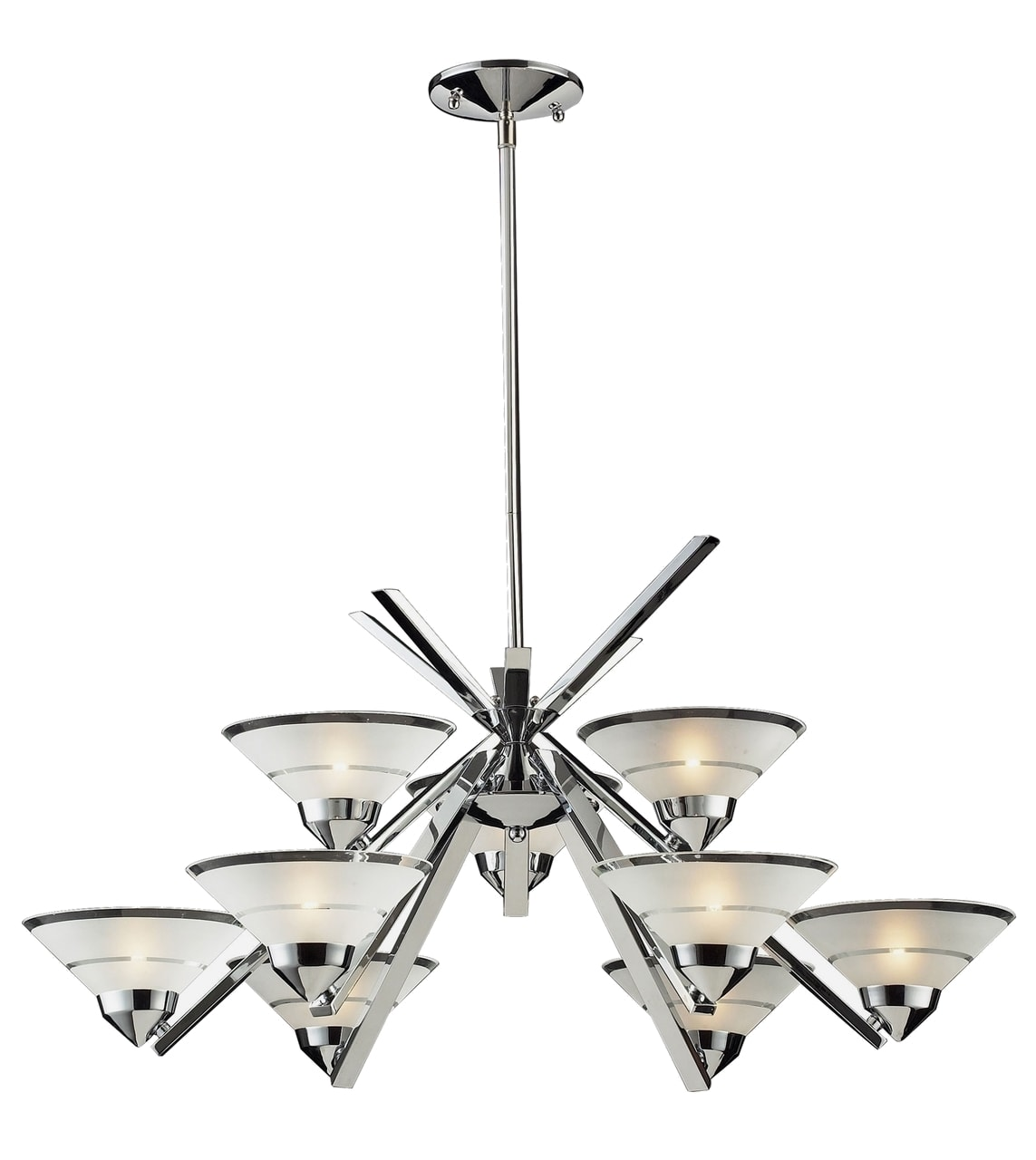 products refraction 9 light chrome chandelier 1476 6 3  18396.1493491904.1280.1280