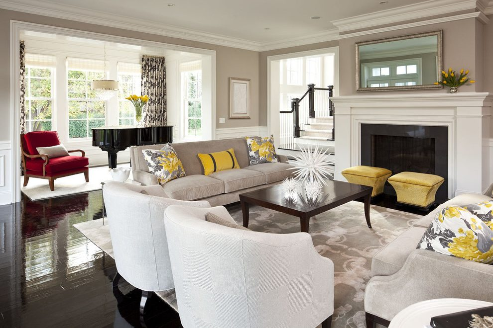 Modern Eclectic Living Room Design Ideas Fine Home Lamps