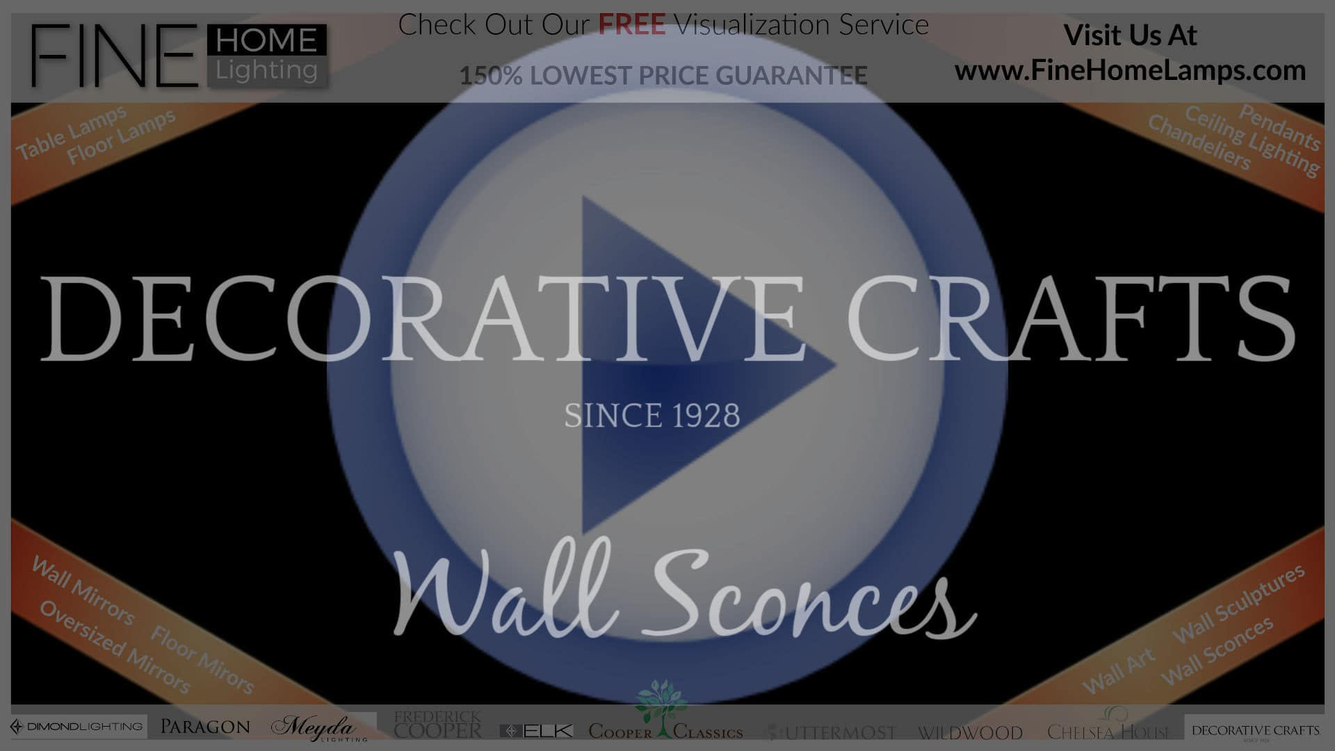 DECORATIVE-CRAFTS-WALL-SCONCES-Thanks-for-watching-this-video-Get-an-additional-15-percent-off-your-next-purchase-Use-Coupon-Code-VIDEO