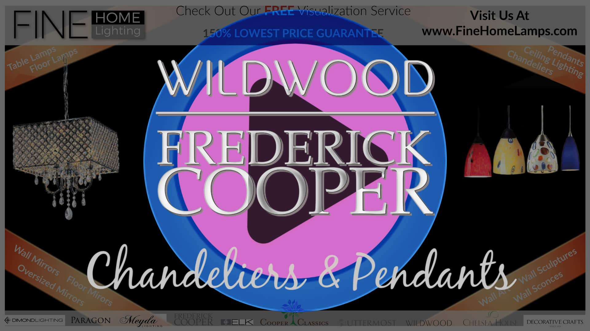 Wildwood-Frederick-Cooper-Chandeliers-Pendants-Thanks-for-watching-this-video-Get-an-additional-15-percent-off-your-next-purchase-Use-Coupon-Code-VIDEO