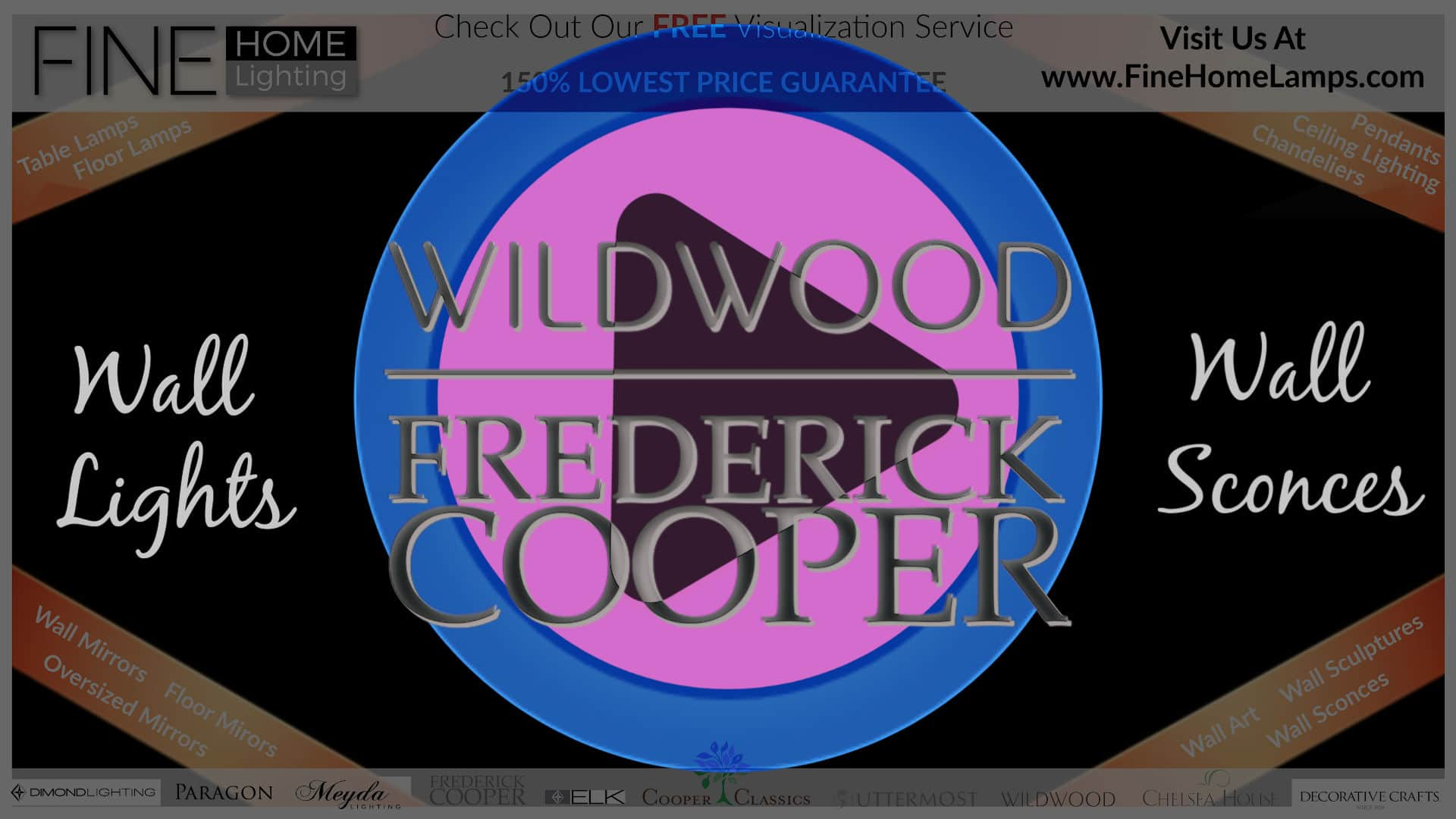 Wildwood-Frederick-Cooper-Sconces-Thanks-for-watching-this-video-Get-an-additional-15-percent-off-your-next-purchase-Use-Coupon-Code-VIDEO