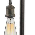 Jonas Table Lamp with Weathered Pipe Motif_EL-14284/1