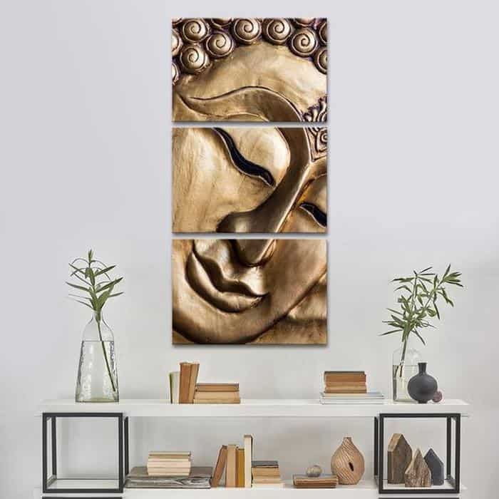 700-10_traditional-wall-art_traditional-buddha-multi-panel-canvas-wall-art
