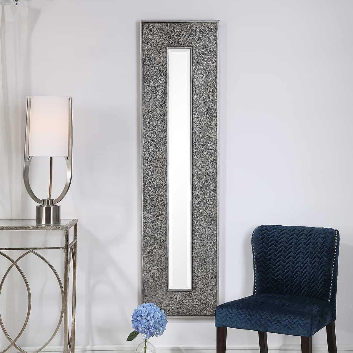Bannon Tall Metallic Mirror_U-09528