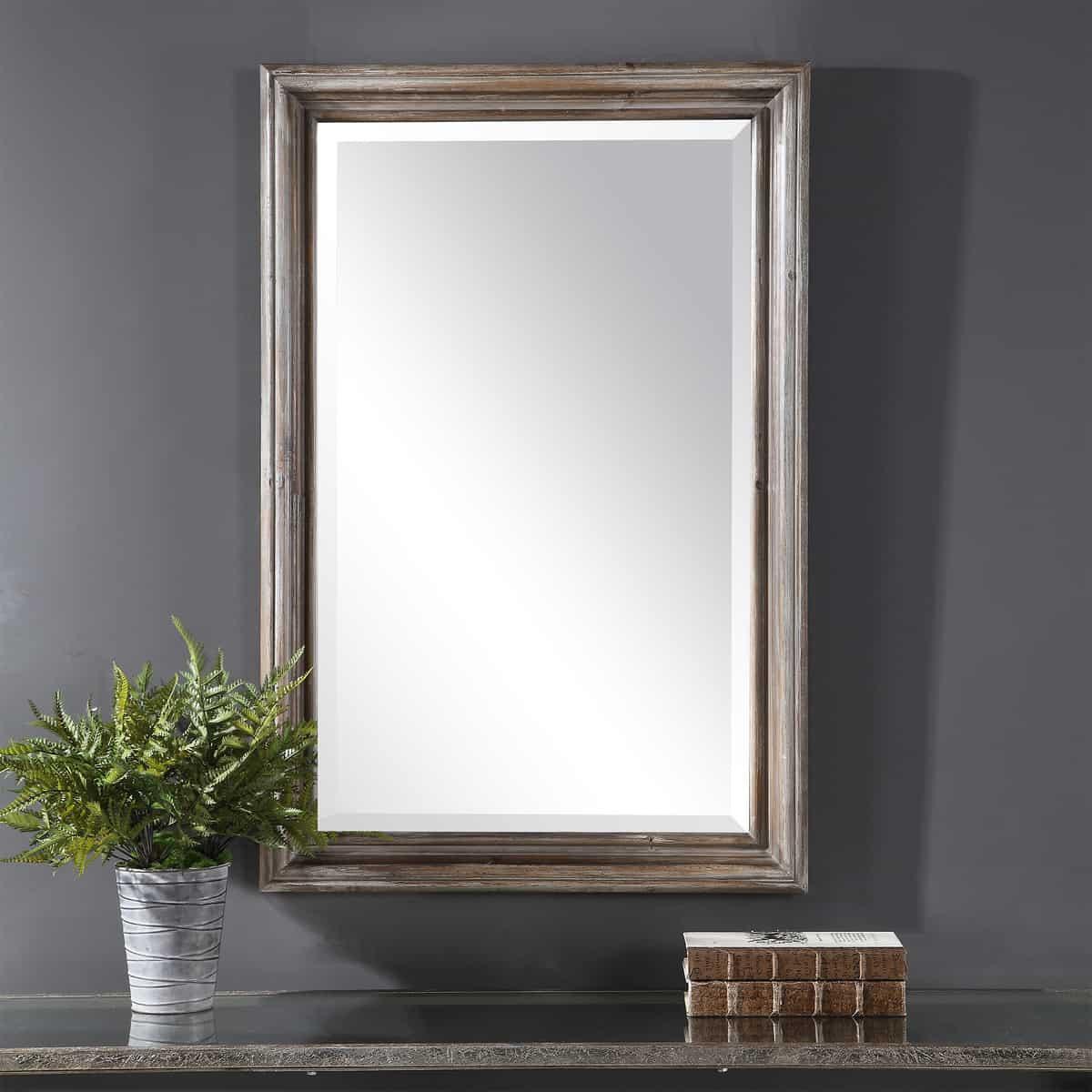 Fielder Distressed Vanity Mirror_U-09596