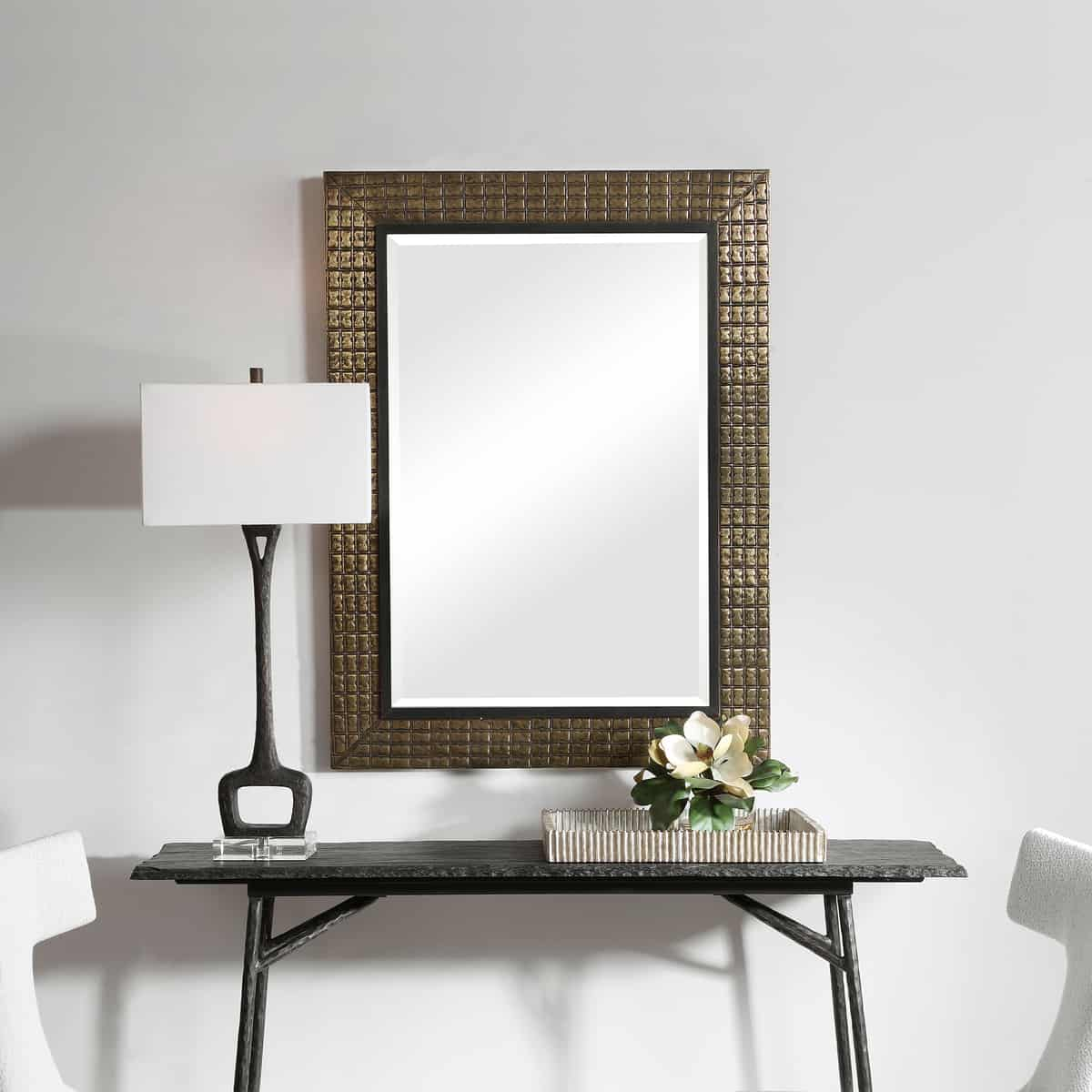 Palo Brass Mirror_U-09632