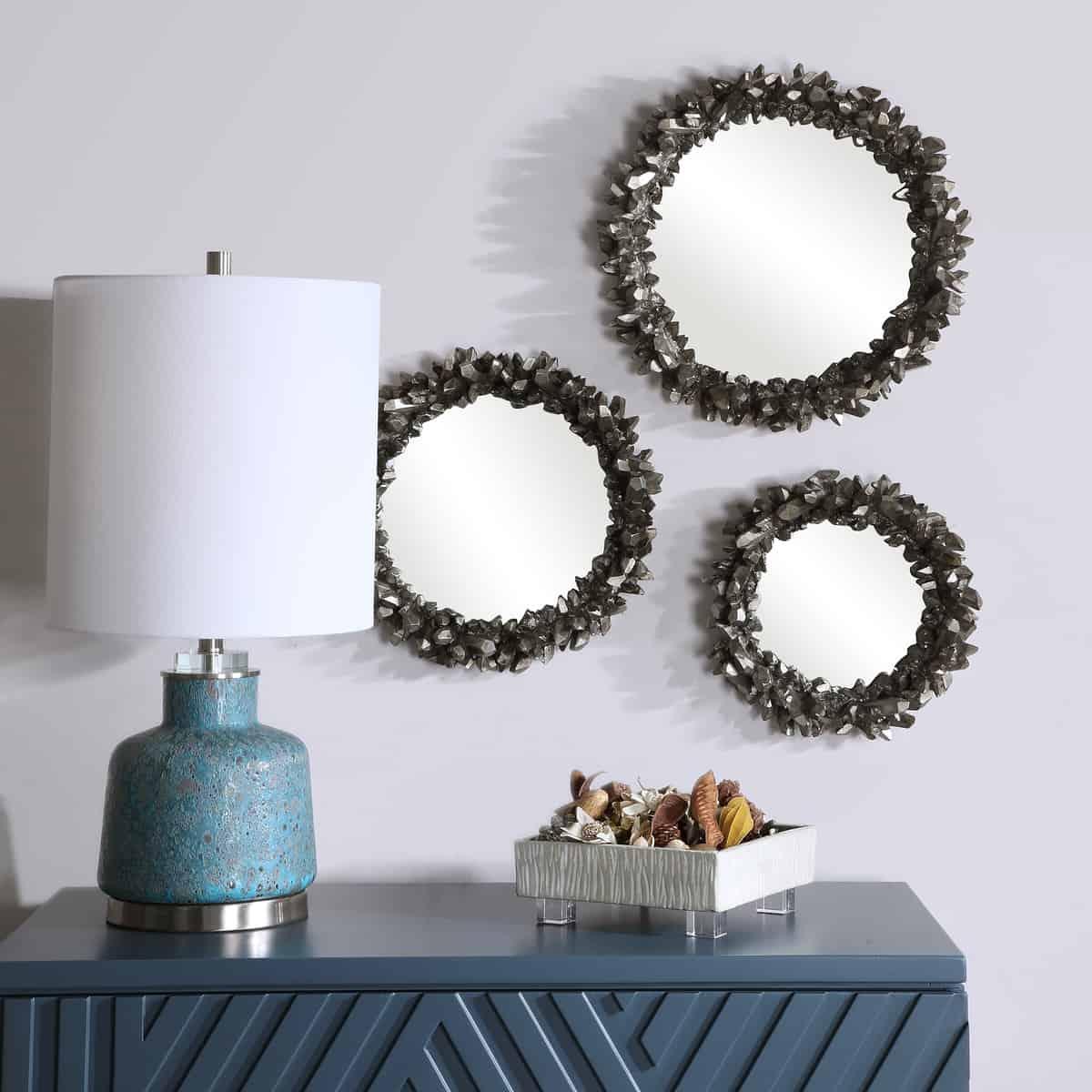 Galena Round Mirrors