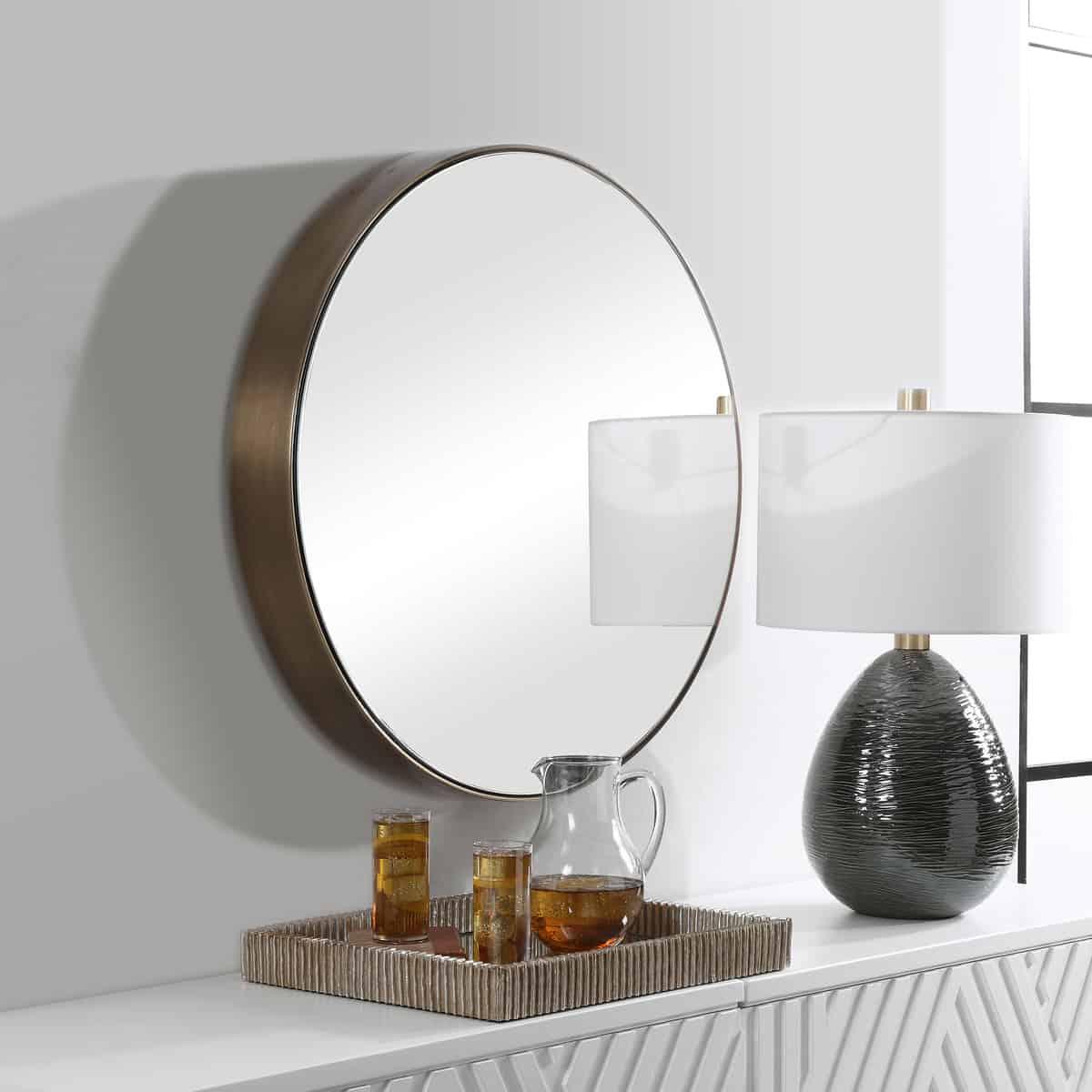 Coulson Modern Round Mirror_U-09617