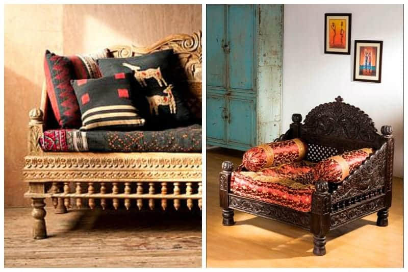 Indian Furniture Design What, Indian Style Furniture