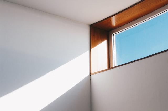A small window.